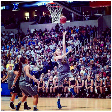 Lauren Hill Layup