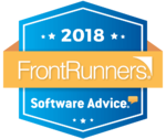 2018-Software Advice Award Badge for Easy InnKeeping - Front runner