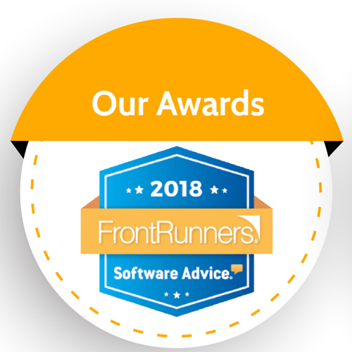 Easy InnKeeping - Front runners award in Software Advice