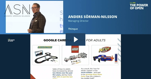 Futurist Keynote Speaker: Lego - Toys for Adults