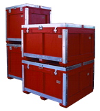 reusable shipping crates container