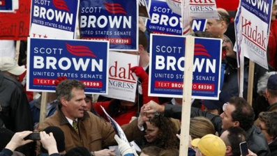 The shortage of Scott Brown campaign signs during the Massachusetts Senate race showed the power of printing