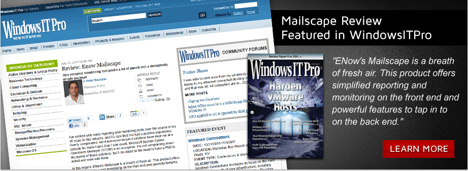 As featured in WindowsITPro