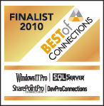 "2010 ""Best of Connections"" Finalist"