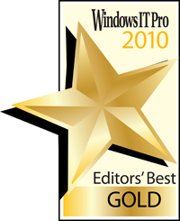 "2010 Editor's Best ""Messaging Product of the Year"""
