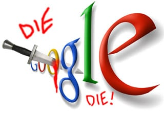 Death to Google Graphic