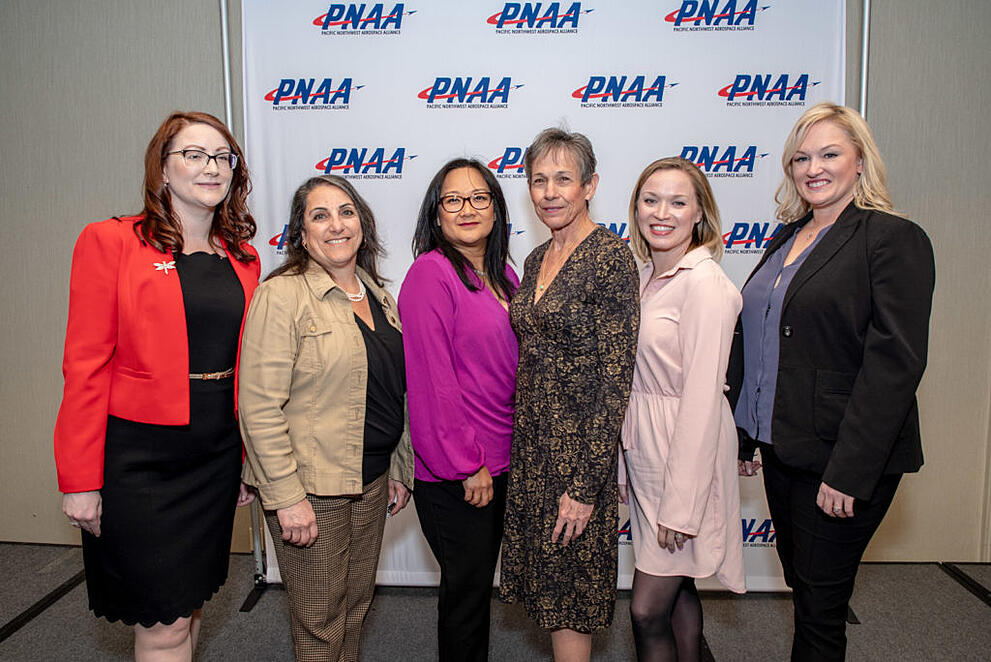 Allison Budvarson Provides HerPerspective to the Women in Aerospace Conference