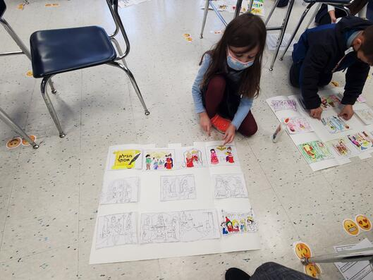 ElementaryClassroomStudentWorking