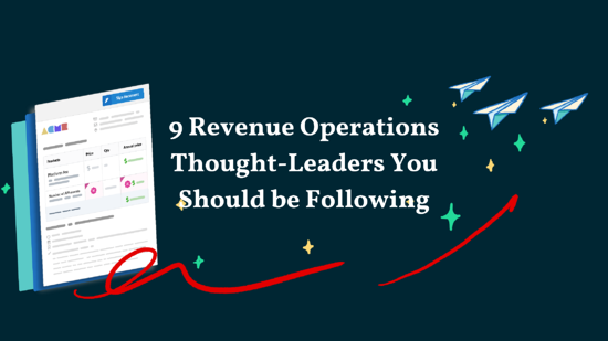 9 Revenue Operations Thought-Leaders You Should Be Following