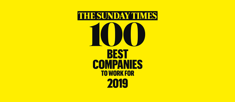 Three's a Charm for AND Digital in The Sunday Times 100 Best Companies 2019