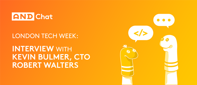 Interview With Kevin Bulmer, CTO Of Robert Walters