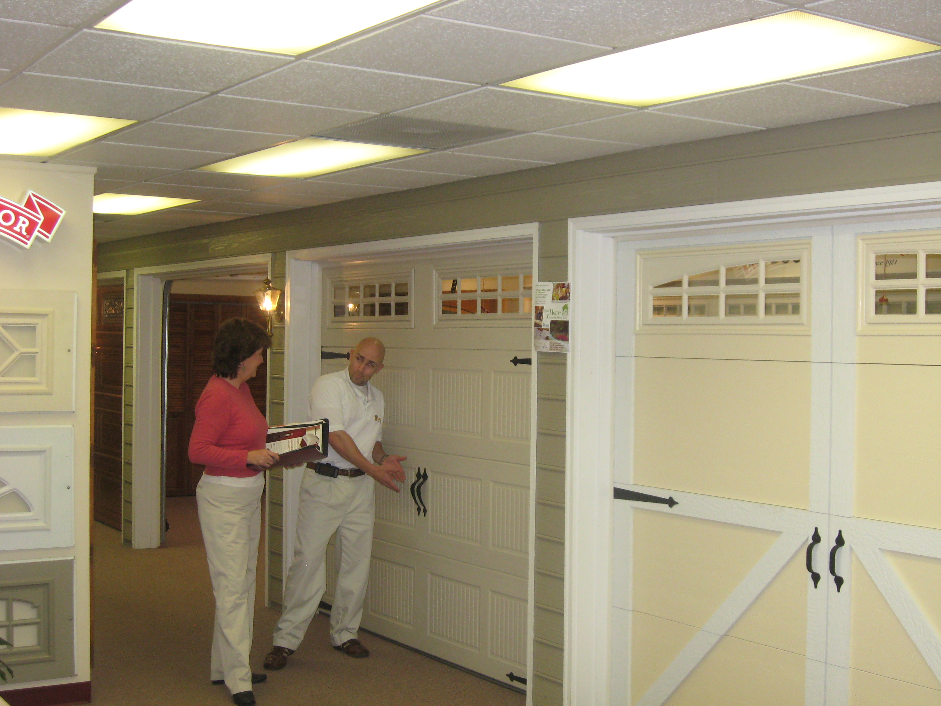 Buy garage door panels