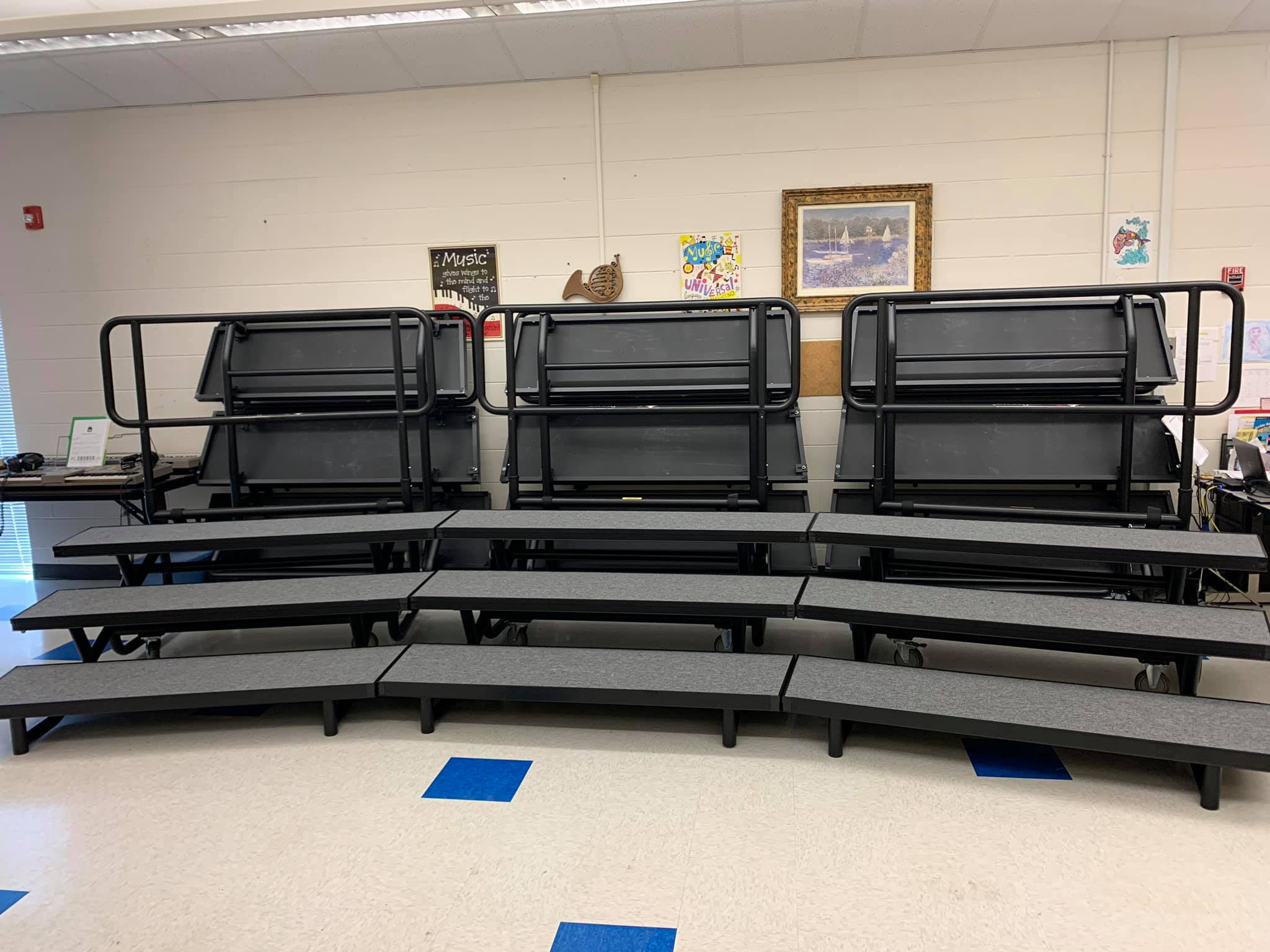 Choir Risers Elementary School