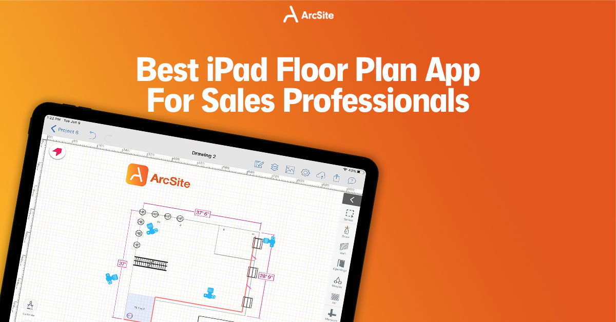 Best Floor Plan App on iPad For Sales Professionals