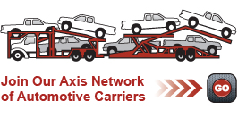 Join Our Axis Network of Automotive Carriers