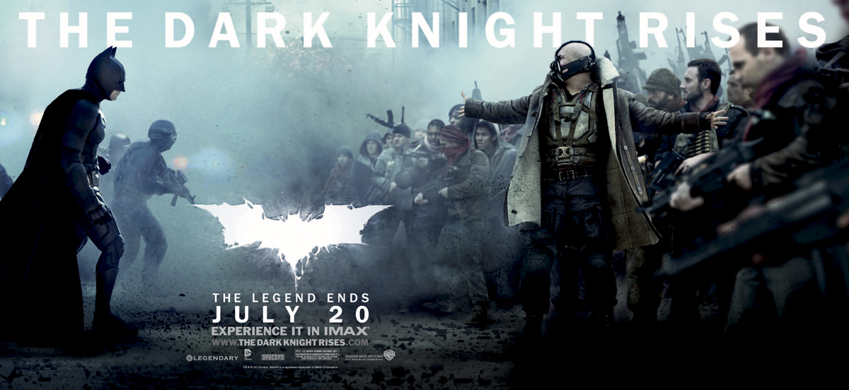 The Dark Knight Rises Banner Poster