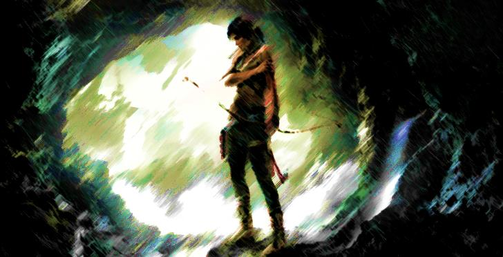 tomb raider reboot art