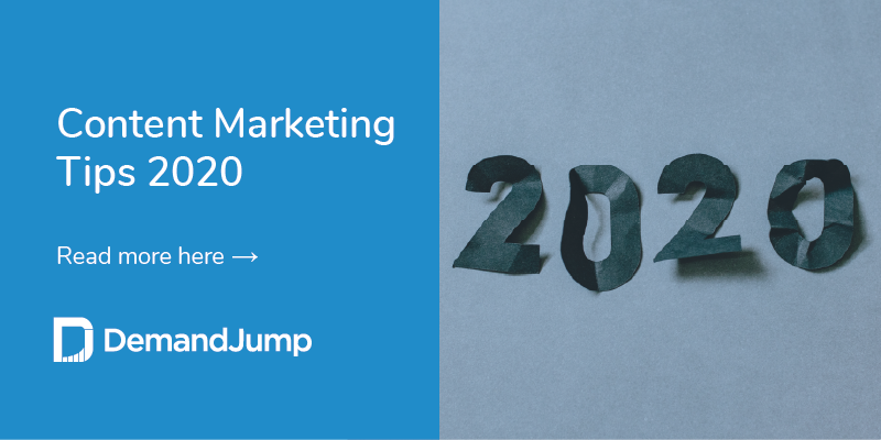 content marketing tips 2020