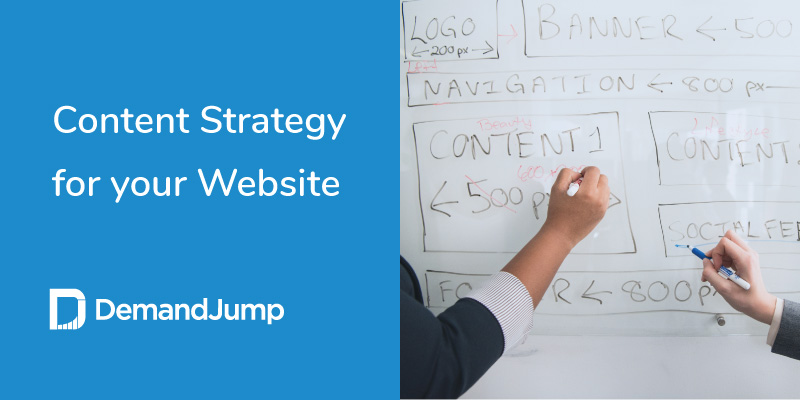 content strategy for your website