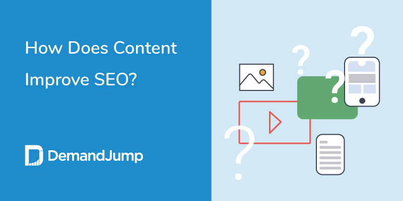 How does content improve SEO