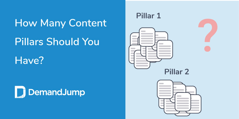 how many content pillars should you have