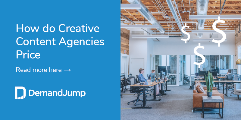 Pricing for Creative Content Agencies