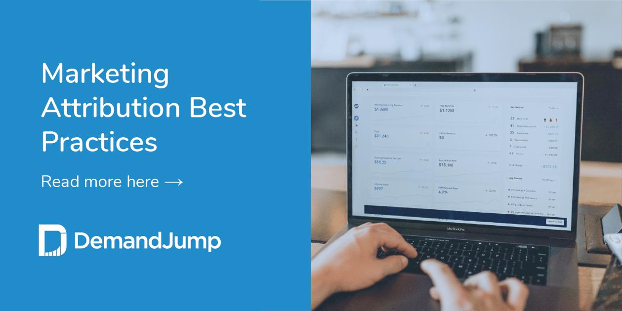 marketing attribution best practices