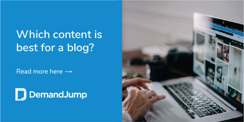which content is best for a blog