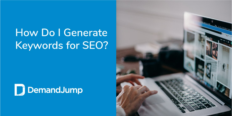 how to generate keywords for seo