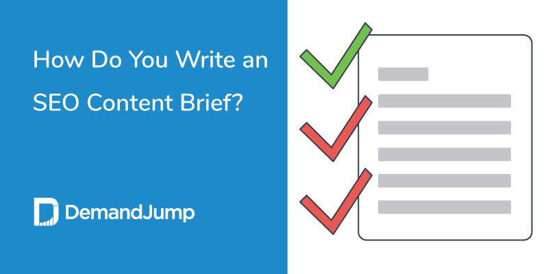 how do you write an SEO content brief