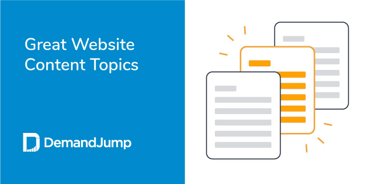 what are good topics for a website