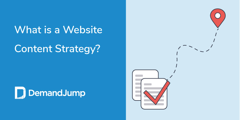 what is a website content strategy