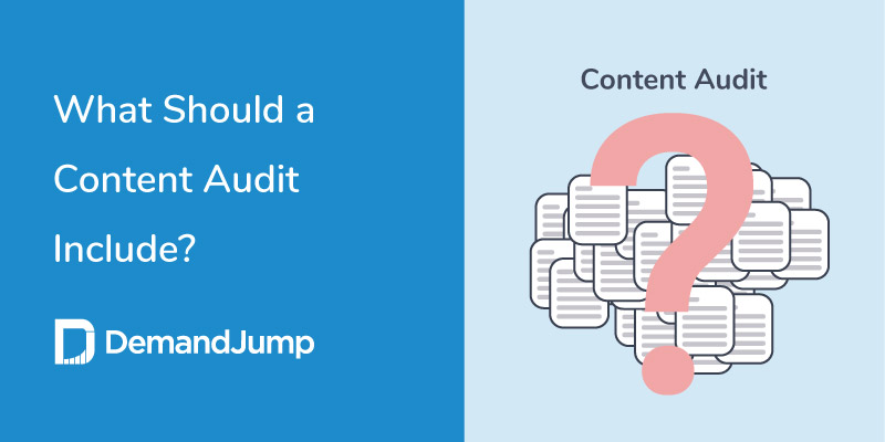 what should a content audit include