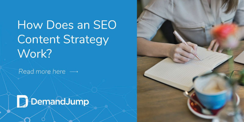 How does an SEO content strategy work