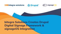 bitegra Solutions & signageOS Drupal Digital Signage Framework