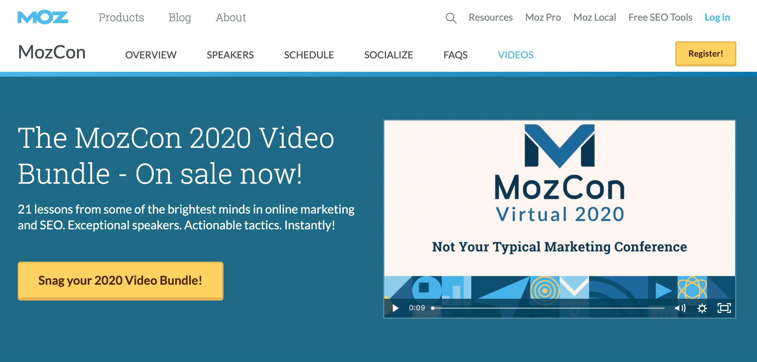 Event Marketing_MozCon