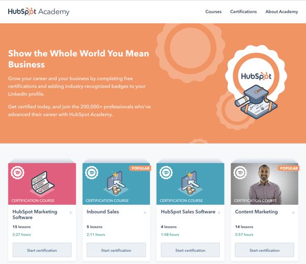 Free Education_HubSpot Academy