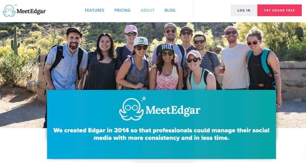 MeetEdgar example