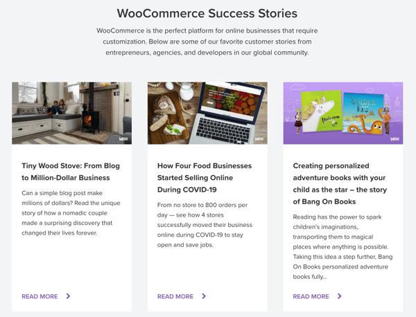 WooCommerce Customer Success Stories