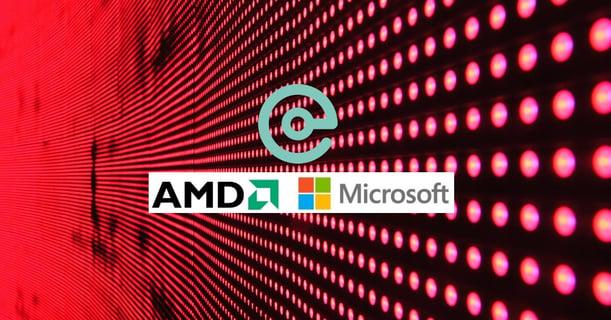 AMD and Microsoft Centiq graphic