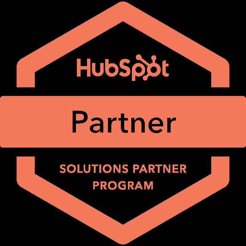 HubSpot Partner Solutions Partner Program Badge