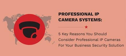 5 Key Reasons You Should Consider Professional IP Cameras For Your Business Security Solution