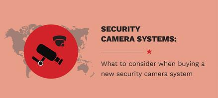 What To Consider When Buying A New Security Camera System