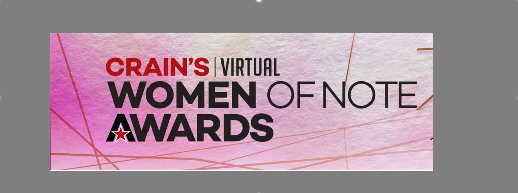 Falls Applauds Crain's 2020 Women of Note
