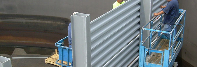 Baffle Walls in Water Treatment Applications