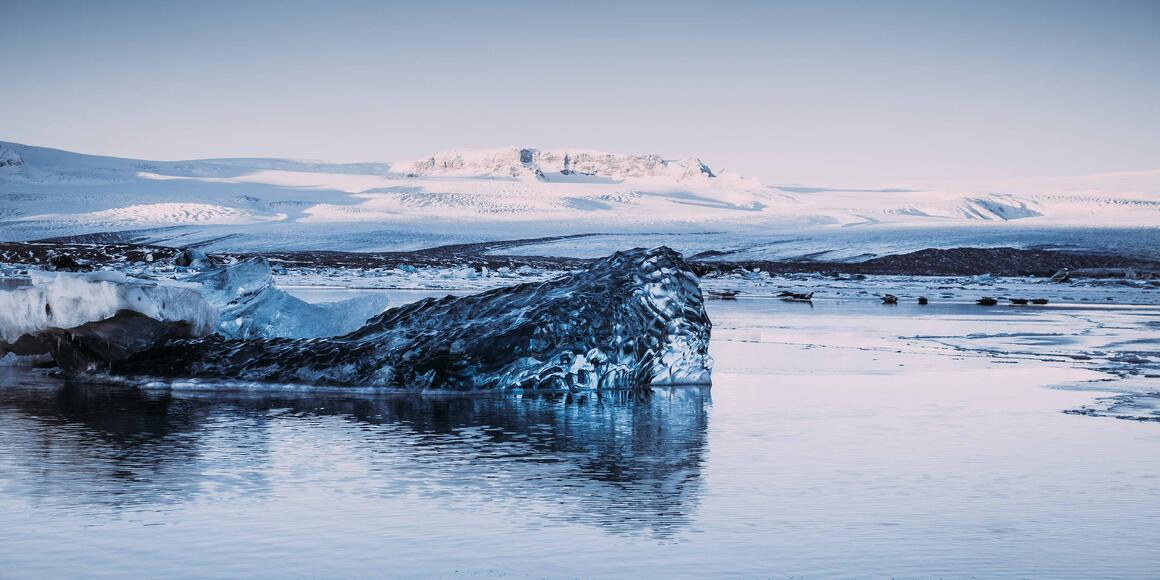 Image of Iceland in winter