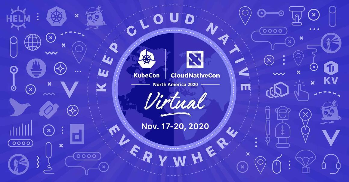 KubeCon Keep Cloud Native Everywhere 2020 Logo