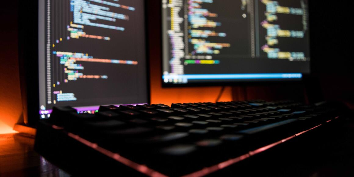 Monitors and keyboards