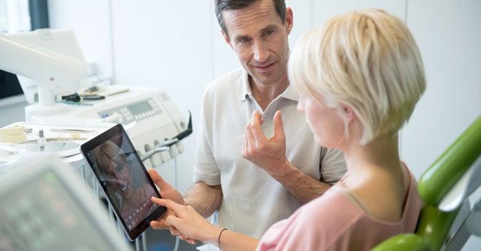 Consulenza odontoiatrica per sbiancamento, smile makeover e Co.: Una buona visualizzazione è fondamentale