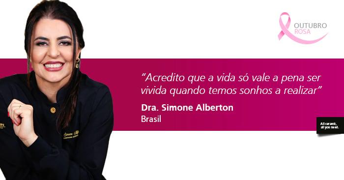 Entrevista com Dra. Simone Alberton: O sorriso que vem de dentro da alma